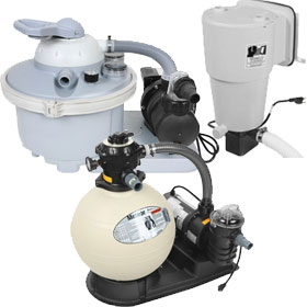Above Ground Pool Filter Pump Systems