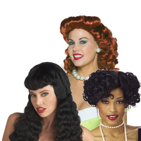 Adult 40s Wigs