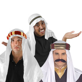 Adult Arab Costume Hats