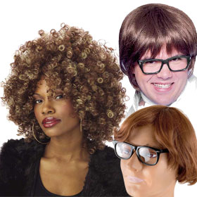 Adult Austin Powers Wigs