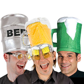 Adult Beer Hats