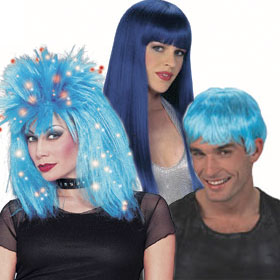 Adult Blue Wigs