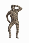Adult Camo Skin Suit Costume