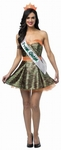 Adult Camouflage Prom Dress Costume
