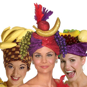 Adult Carmen Miranda Hats