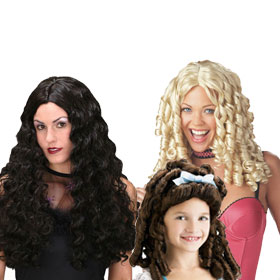 Adult Curly Wigs