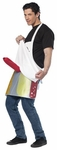 Adult Deli Salami Man Dirty Costume Apron