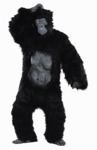 Adult Deluxe Black Gorilla Costume