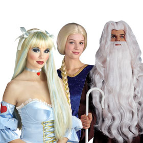 Adult Fairytale Wigs