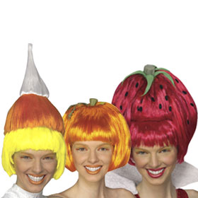 Adult Food Wigs