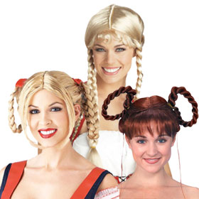 Adult German and Bavarian Wigs