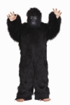 Adult Gorilla Black Costume