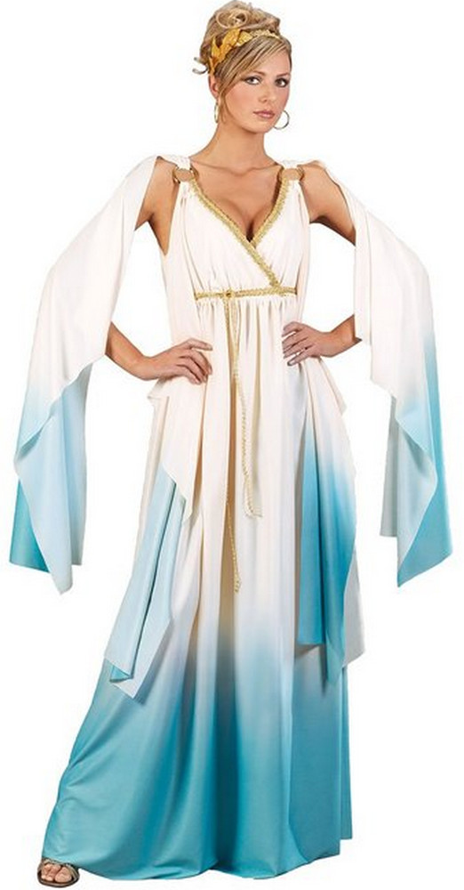 Adult Greek Goddess Gown Costume