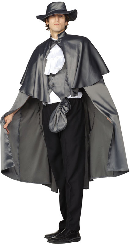 Adult Grey Highwayman Costume