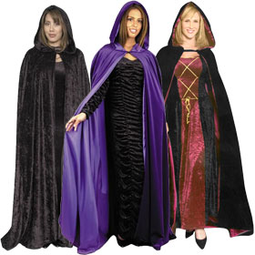 Adult Hooded Capes & Cloaks