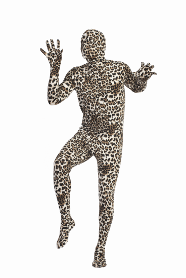 Adult Leopard Skin Suit Costume