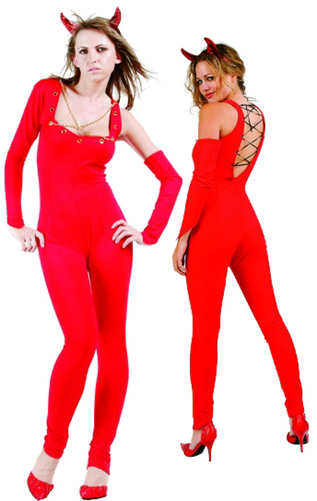 Adult Naughty Devil Leotard Costume