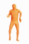 Adult Orange Skin Suit Costume