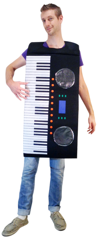 Adult Piano Costume