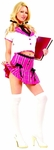 Adult Pink College Girl Costume