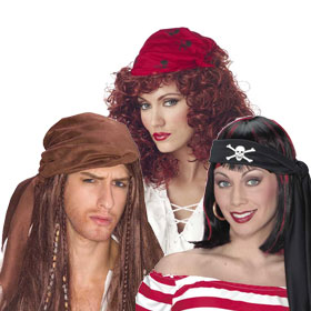 Adult Pirate Wigs