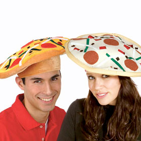 Adult Pizza Hats
