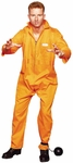 Adult Plus Size Escaped Convict Costume