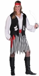 Adult Plus Size Pirate Lady Costume