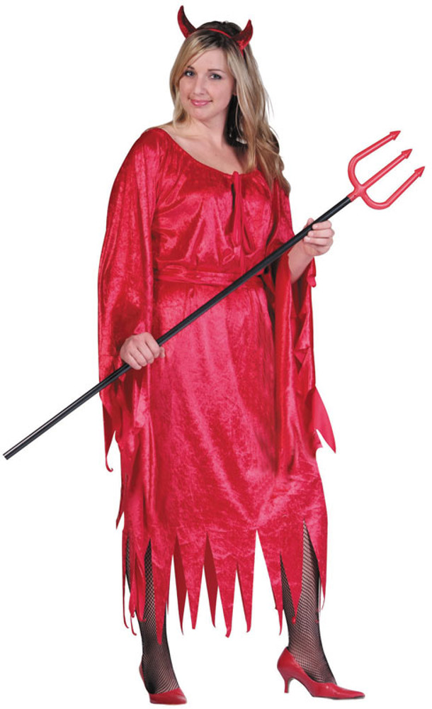 Sexy plus size devil costumes