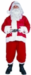 Adult Plus Size Velboa Santa Suit