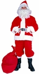 Adult Polyester Santa Claus Suit