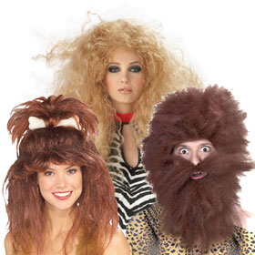 Adult Prehistoric and Caveman Wigs