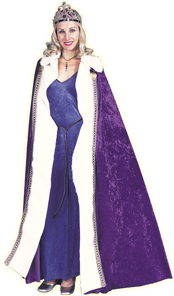 Adult Queens Purple Robe