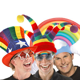 Adult Rainbow Pride Hats