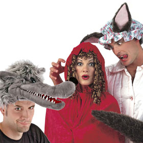 Adult Red Riding Hood Hats