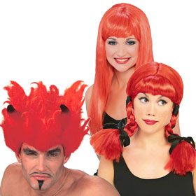 Adult Red Wigs