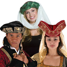 Adult Renaissance Hats