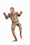 Adult Tiger Skin Suit Costume