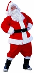 Adult Velvet Santa Claus Suit