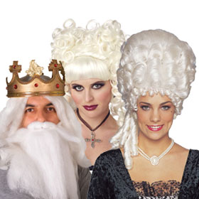 Adult White Wigs
