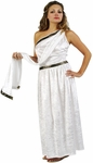 Adult Women's Long Toga Costume