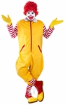 Adult Yellow Clown Costume