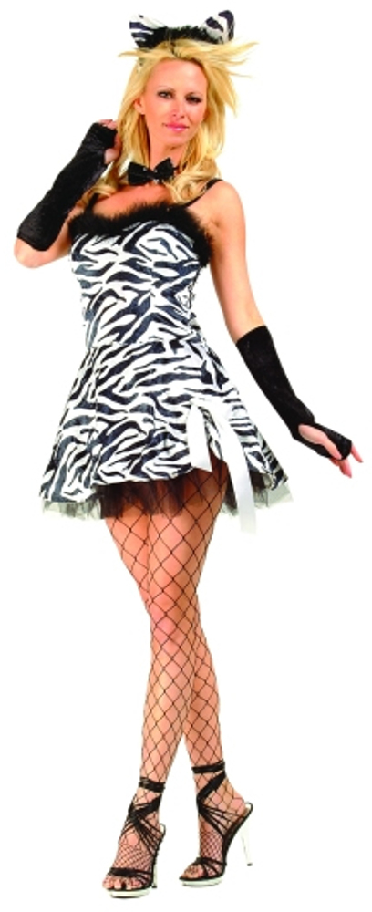 Adult Zebra Bebe Costume