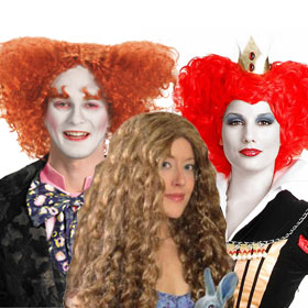 Alice in Wonderland Wigs