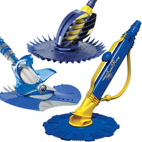 Automatic Suction Type In-Ground Pool Cleaners