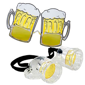 Beer Costume Glasses