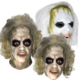 Beetlejuice Masks