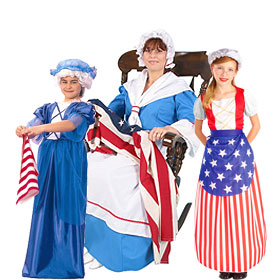 how to make colonial costumes at home