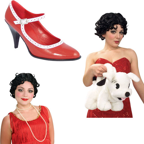 Betty Boop Costume Accessories