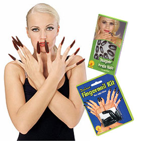 Black Fingernail Kits